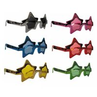 8570214 Lunettes Star Metal 6 Coul Ass