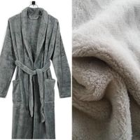 Recycled polyester rpet coral fleece fabric for robe thumbnail image