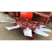 Aluminum Axial Ventilation Fan Impeller Blade
