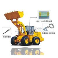 Electronic wheel loader scale