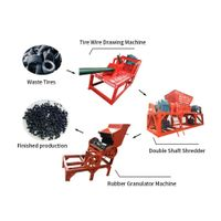 Industrial rubber tire tyre recycle machine thumbnail image