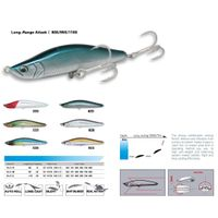 fishing lure - Long-Range Attack I 80S/95S/110S  (pencial bait, suspend)