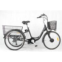 PETRIGO Electric Tricycle Modern 3 Wheel Cargo Bicycle E-bikes TDM02Z thumbnail image