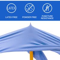 Disposable Nitrile Gloves 4 Mil Latex Free Safety Working Gloves (100 Count per Pack) thumbnail image