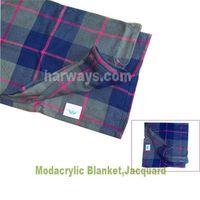 Modacrylic Blanket for Inflight