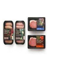 Black PP meat tray thumbnail image