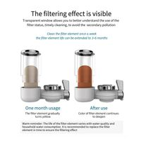 Long-Lasting Water Faucet Filtration System, Faucet Filter, Tap Water Filter thumbnail image