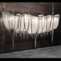 Atlantis Suspension Light - Long modern luxurious pendant lights