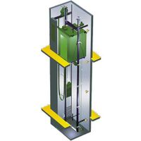China-UK cooperation Gearless Passenger Elevator From Professional Manufacturer