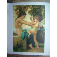 classical oil painting, figure oil painting, oil painting reproduction thumbnail image