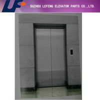 Hairline stainless steel landing door machine