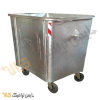 Galvanized Waste Container
