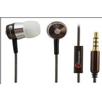 Homeesen EP341M Metal Earphone/Headphone ,In-ear Metal Earphone,Headphone with Microphone