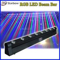 8X10w RGBW Rotation Led beam bar