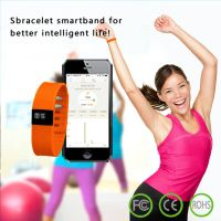 Factory Price Smart Watch Phone Fashion Wrist Band 2014 OLED Screen, Bluetooth 4.0 Smart Bracelet