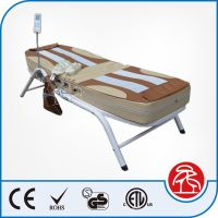 Big Sale Electric Iron Frame Jade Stone Thermal Massage Bed, Table