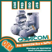 500L QDHICOM fabericated air compressor receiver tank with ASME