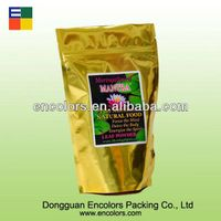 2014 Beautiful design printed colors food packaging bag for live abalone /seafood packaging bag