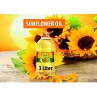 Refined sunflower oil 3l bottle
