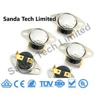 Ksd301 Ksd302 Ksd305 Home Appliances Part Fixed or Movable Bimetal Thermostat 250V 10A thumbnail image