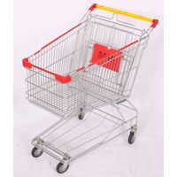 80L shopping trolley