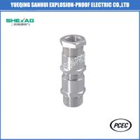 Double compression unarmored cable gland thumbnail image
