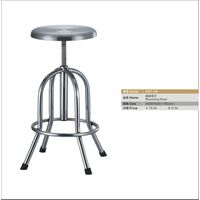 stainless steel laboratory revolving stool
