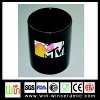 Ceramic color changing mug with printing logo thumbnail image
