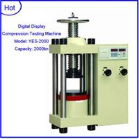 YES-2000 2000kn Digital display hydraulic concrete compression testing machine