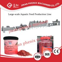 sinking fish food pellet feed extruder making machine thumbnail image