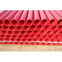 Factory supply concrete delivery pipe / ISO reinforced concrete pump steel pipe