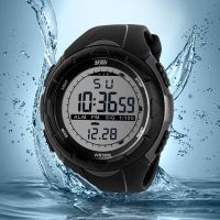 Digital sports watch 50M water resistant wrist watch