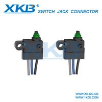 Factory direct with lead waterproof micro switch Dongguan waterproof micro switch