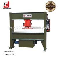 JS-xcll3-250 Hydraulic travelling-head leather cutting press
