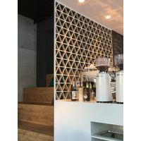 Laser cut aluminum partition decoration wall thumbnail image