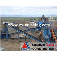 250T/H limestone crushing plant in Shanxi