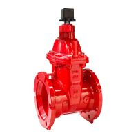 Iron wedge gate valve AWWA C515 UL/FM certified thumbnail image