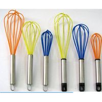 kitchen silicone whisk tools egg beater
