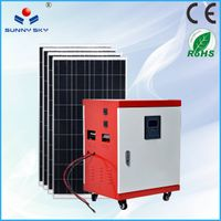 4KWsolar power generator with mppt solar controller inverter