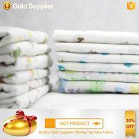 eco-friendly thin 100% cotton children's sleepwear fabric thumbnail image