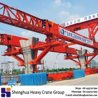 200 ton bridge girder erection steel launching gantry crane