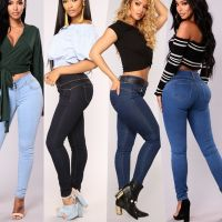 2021 Latest design high quality North Africa brazilian jeans for women thumbnail image