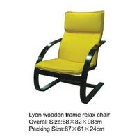 Lyon wooden frame relax chair