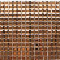 Foshan gold mosaic tiles glass material square shape thumbnail image