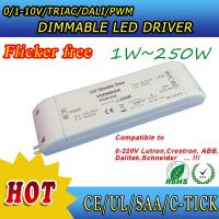 0-10V/1-10V dimmable driver no flicker Compatible to lutron,dynalite,schneider,ABB,crestron