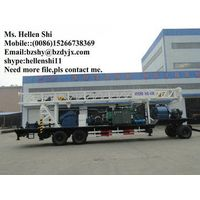 600m Trailer mounted water well drilling rig