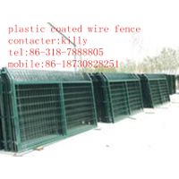 Triangle bending guardrail nets,wire mesh fence