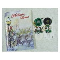 music chip for greeting cards