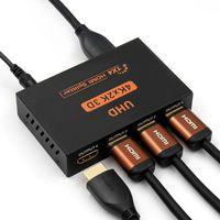 Hdmi Splitter 14 High Resolution 2K4K 3D Full Hd Tv 1 Input 4 Output Hdmi Hub Switcher Adapter