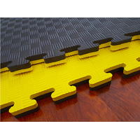 Black&Yellow Taekwondo Mats